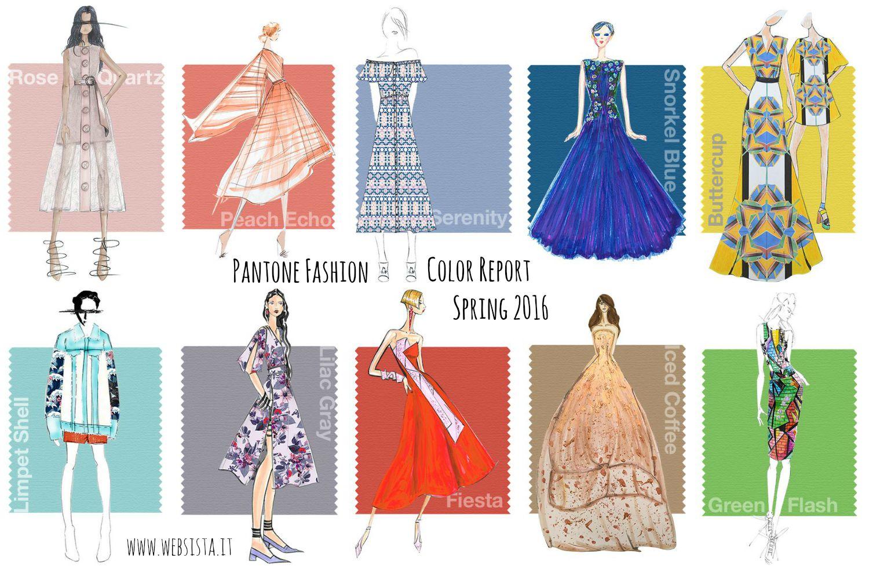 Primavera 2016 - I Colori Pantone - Innamorati Tessuti